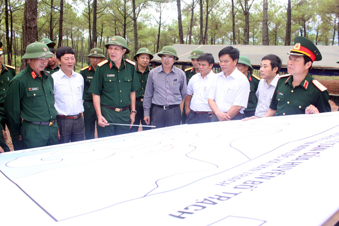 Công tác chuẩn bị diễn tập khu vực phòng thủ tỉnh Quảng Bình năm 2014: Chu đáo, chặt chẽ