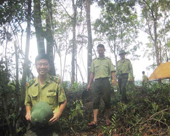 Công tác quản lý bảo vệ rừng chuyển biến tích cực