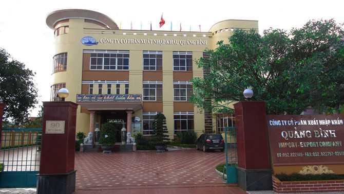 CTCP XNK Quảng Bình đăng ký niêm yết trên HOSE