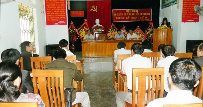 Đại biểu HĐND tỉnh tiếp xúc cử tri huyện Minh Hoá và Tuyên Hoá