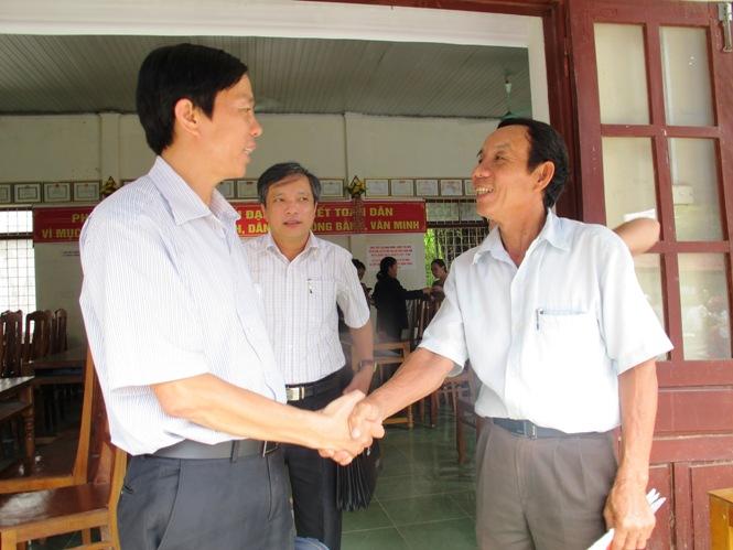 Đại biểu HĐND tỉnh tiếp xúc cử tri tại huyện Quảng Trạch và Tuyên Hóa