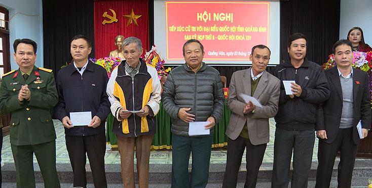 Đại biểu Quốc hội tiếp xúc cử tri sau kỳ họp thứ 8, Quốc hội khóa XIV