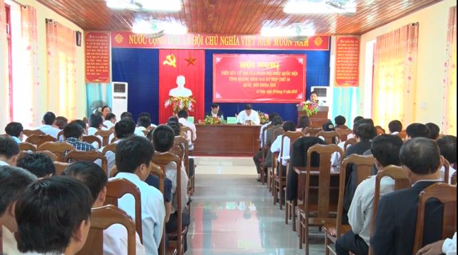 Đại biểu Quốc hội tỉnh tiếp xúc cử tri sau kỳ họp thứ 10, Quốc hội khoá XIII