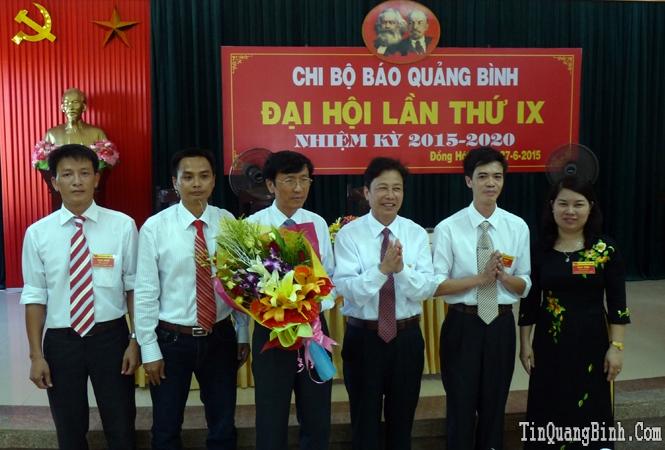 Đại hội Chi bộ Báo Quảng Bình lần thứ IX, nhiệm kỳ 2015-2020