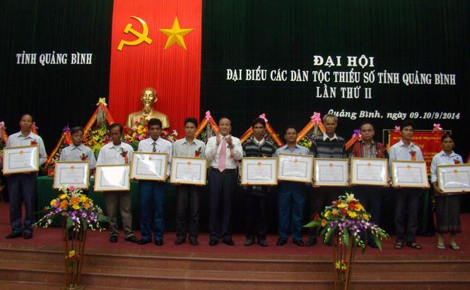 Đại hội đại biểu các dân tộc thiểu số tỉnh Quảng Bình lần thứ II