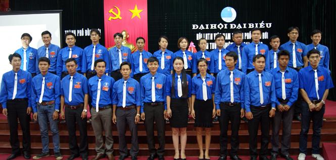 Đại hội đại biểu Hội Liên hiệp thanh niên TP Đồng Hới lần thứ IV