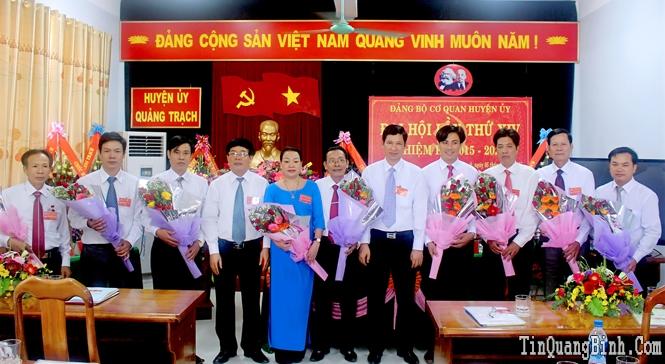 Đại hội đảng bộ, chi bộ cơ sở ở huyện Quảng Trạch: Những kinh nghiệm rút ra