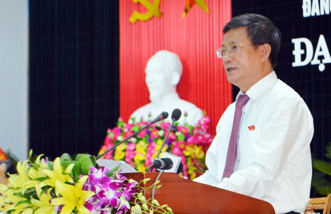 Đại hội Đảng bộ Khối các cơ quan tỉnh lần thứ XIII, nhiệm kỳ 2015-2020