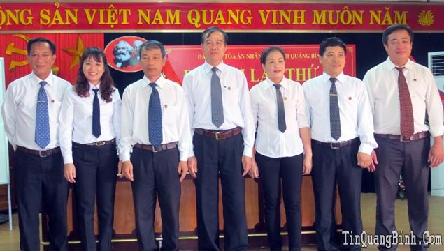 Đại hội Đảng bộ Tòa án nhân dân tỉnh lần thứ IX, nhiệm kỳ 2015-2020