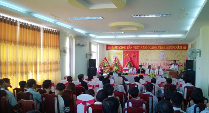 Đại hội Hội võ thuật cổ truyền tỉnh Quảng Bình lần thứ II, nhiệm kỳ 2015-2020