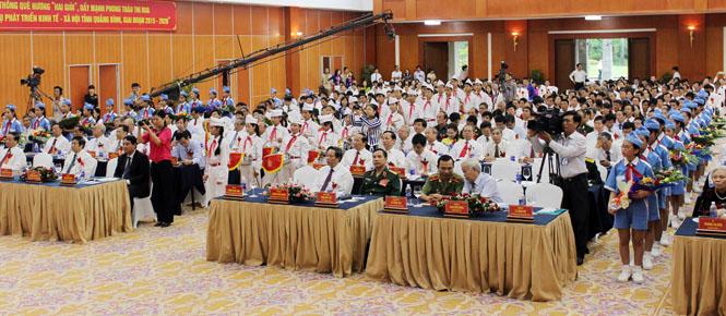 Đại hội Thi đua yêu nước tỉnh Quảng Bình lần thứ IV, giai đoạn 2015-2020