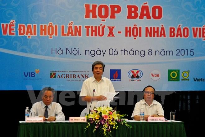 Đại hội X Hội nhà báo Việt Nam: Bảo vệ tác nghiệp là một trọng tâm