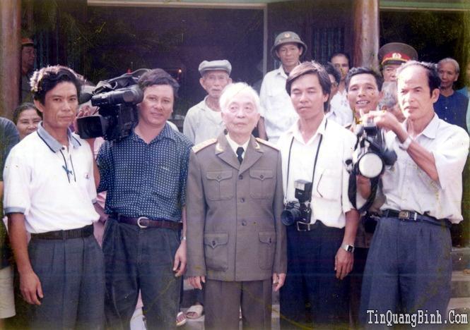 Đại tướng và những người làm báo Quảng Bình