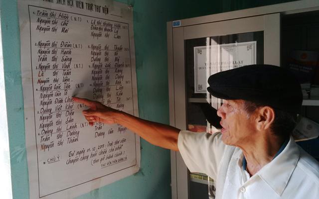 Dân làng Quảng Xá mê sách