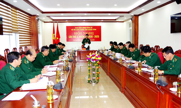 Đảng bộ Bộ đội Biên phòng tỉnh nâng cao chất lượng lãnh đạo, đưa nghị quyết đi vào cuộc sống