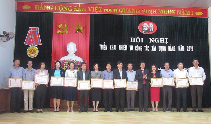 Đảng bộ Khối các cơ quan tỉnh: Đẩy mạnh công tác xây dựng Đảng