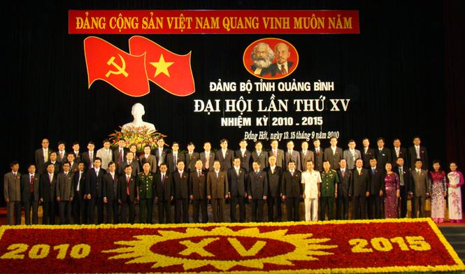 Đảng bộ Quảng Bình từ Đại hội I đến Đại hội XVI