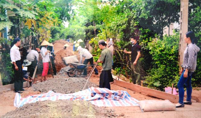 Đảng bộ xã Thạch Hóa: Chú trọng công tác xây dựng Đảng gắn với phát triển kinh tế