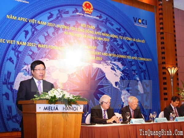 Đăng cai Năm APEC 2017 là trọng tâm đối ngoại của Việt Nam