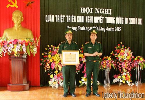 Đảng ủy Bộ đội Biên phòng Quảng Bình quán triệt Nghị quyết Hội nghị Trung ương 10 (khóa XI)