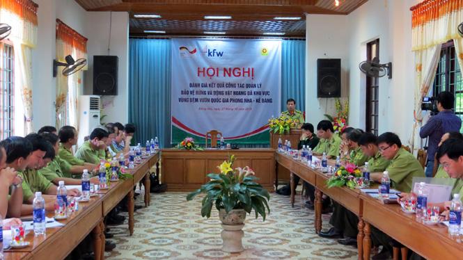 Đánh giá kết quả quản lý bảo vệ rừng và động vật hoang dã tại khu vực vùng đệm VQG Phong Nha-Kẻ Bàng