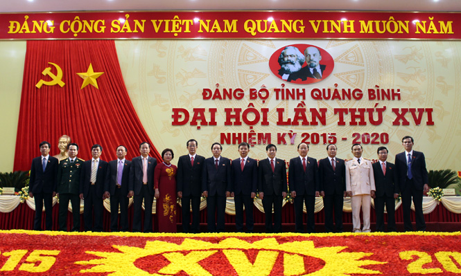 Danh sách Ban Thường vụ Tỉnh ủy Khóa XVI, nhiệm kỳ 2015-2020