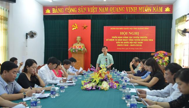 Đẩy mạnh tuyên truyền kỷ niệm 70 năm ngày Tổng tuyển cử đầu tiên bầu Quốc hội Việt Nam