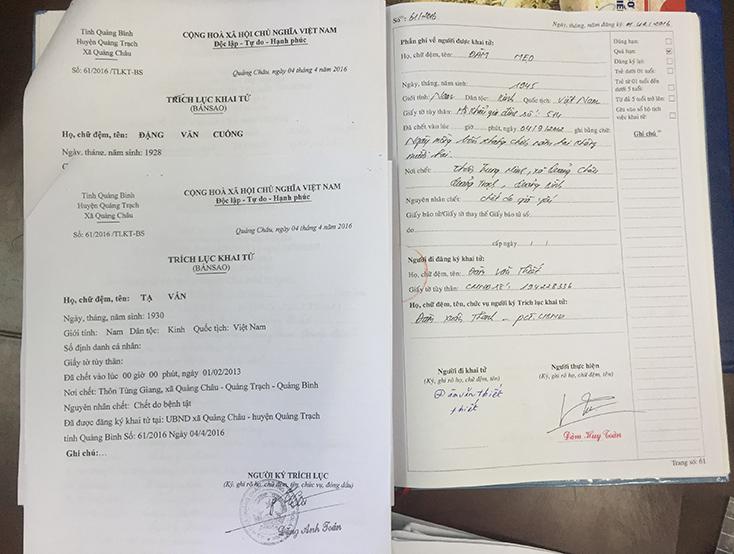 """Để """"người chết sống lại"""" ký giấy cho tặng đất, nhiều cán bộ xã Quảng Châu dính kỷ luật"""