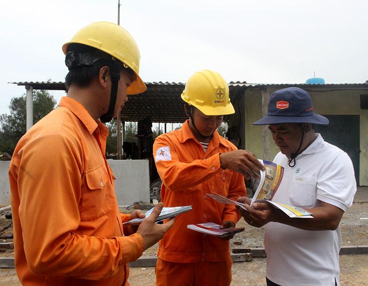 Điện lực Quảng Bình: Ứng dụng công nghệ, nâng cao chất lượng dịch vụ