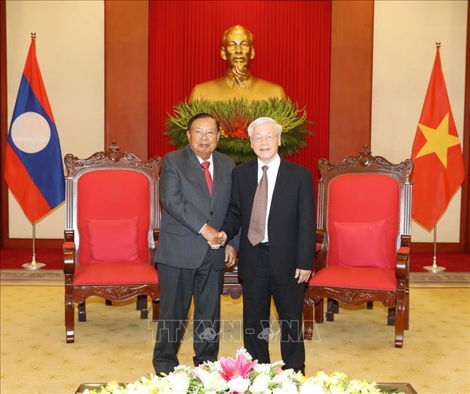Điện mừng nhân dịp kỷ niệm lần thứ 44 Quốc khánh nước CHDCND Lào