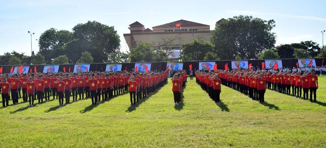 Đồng Hới khai mạc Đại hội TDTT lần thứ VIII, năm 2017