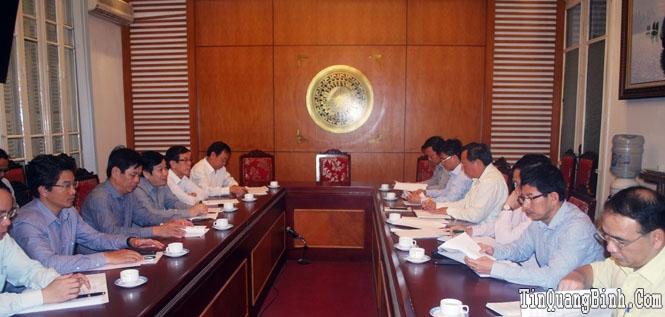 Đoàn công tác UBND tỉnh Quảng Bình làm việc với Tổng cục Du lịch Việt Nam