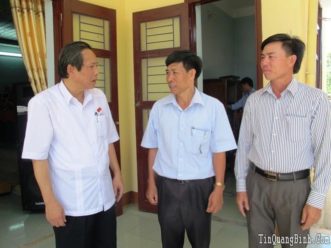 Đoàn đại biểu Quốc hội tỉnh tiếp xúc cử tri sau kỳ họp thứ 9, Quốc hội khóa XIII