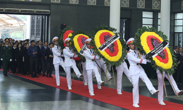 Đoàn đại biểu tỉnh Quảng Bình viếng nguyên Chủ tịch nước, Đại tướng Lê Đức Anh...