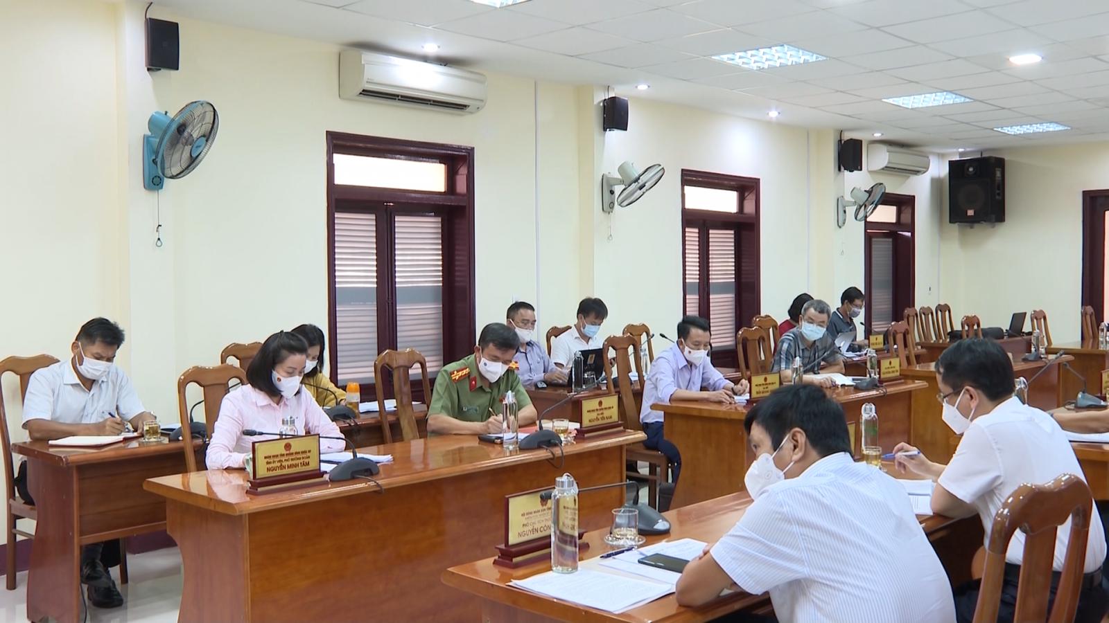 Đoàn ĐBQH tỉnh tham gia ý kiến về nội dung, chương trình kỳ họp thứ 2, Quốc hội khóa XV