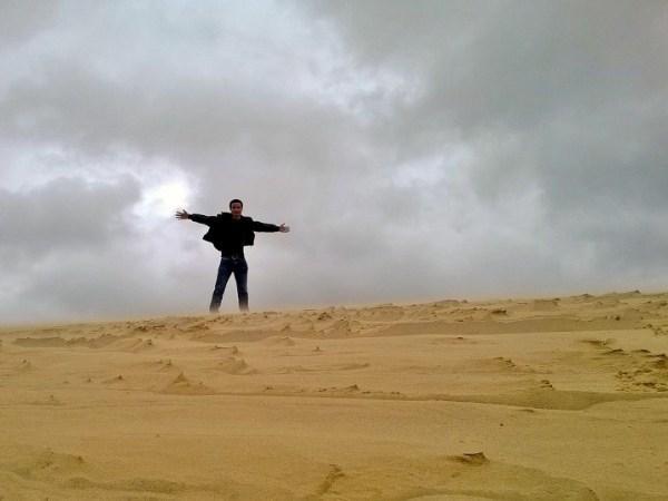 Đồi cát bay ở Quảng Bình: Cảnh đẹp như thiên đường