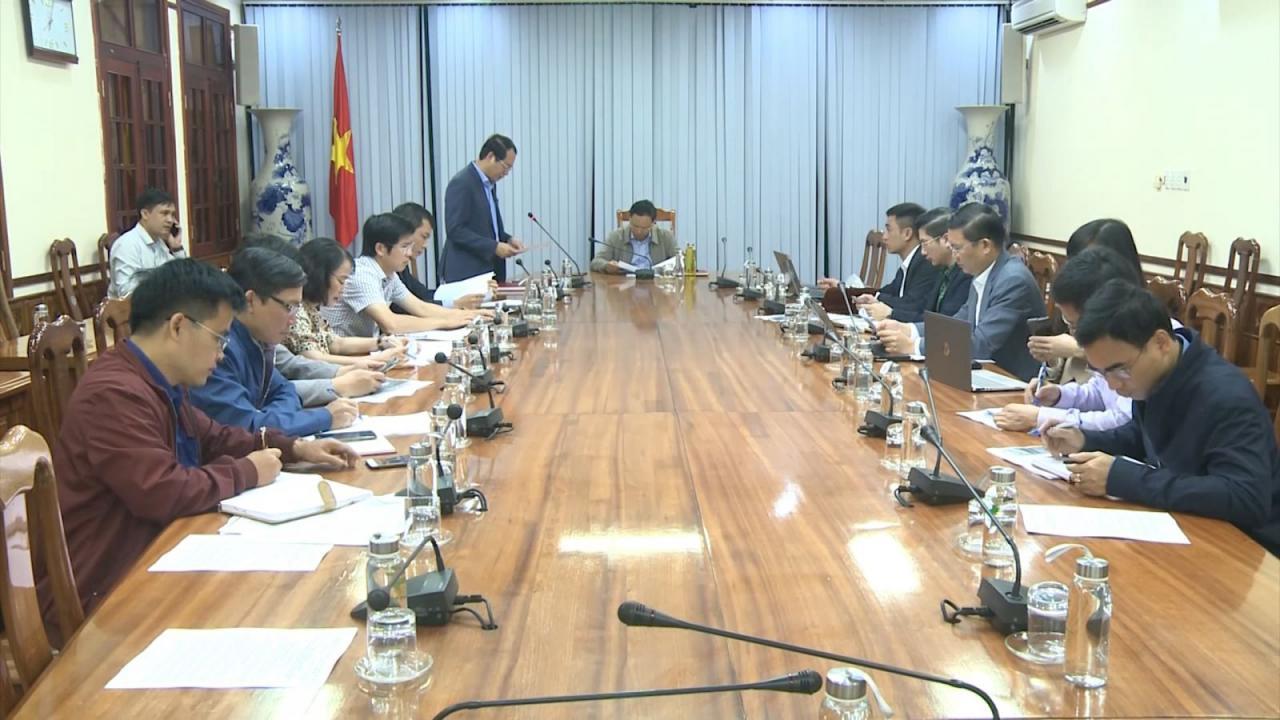 Đồng chí Lê Minh Ngân làm việc với Công ty Cổ phần Tập đoàn FLC