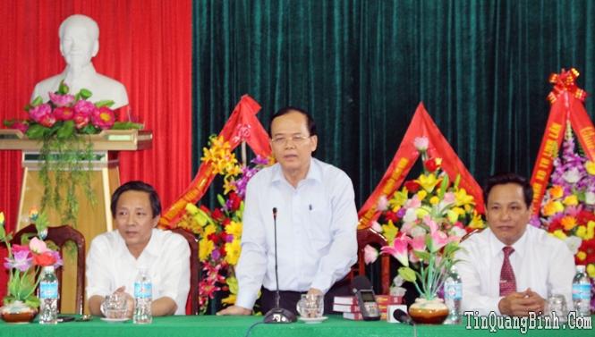 Đồng chí Ngô Văn Dụ, Ủy viên Bộ Chính trị, Bí thư Trung ương Đảng, Chủ nhiệm Ủy ban Kiểm tra Trung ương thăm và làm việc tại tỉnh ta