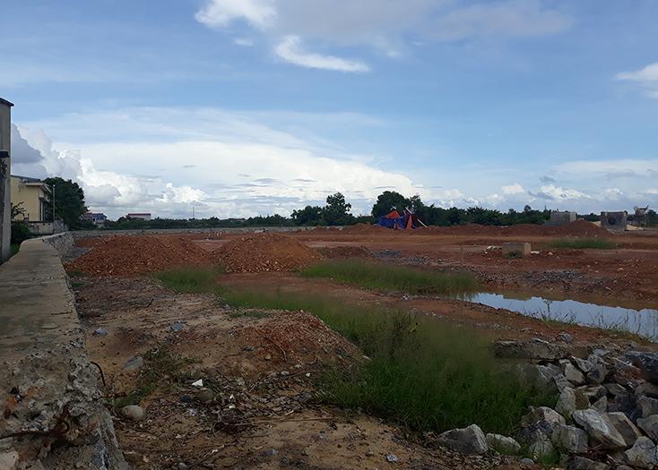 Dự án khu nhà ở thương mại phía Tây mương Phóng Thủy