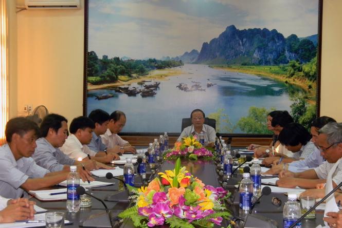 Dự án SRDP thành lập được 36 tổ hợp tác tại huyện Tuyên Hoá