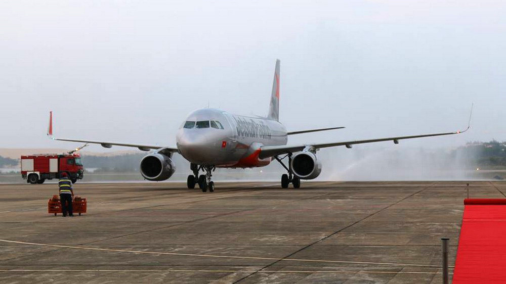 Đường bay Đồng Hới - Hải Phòng đạt hiệu suất 46%