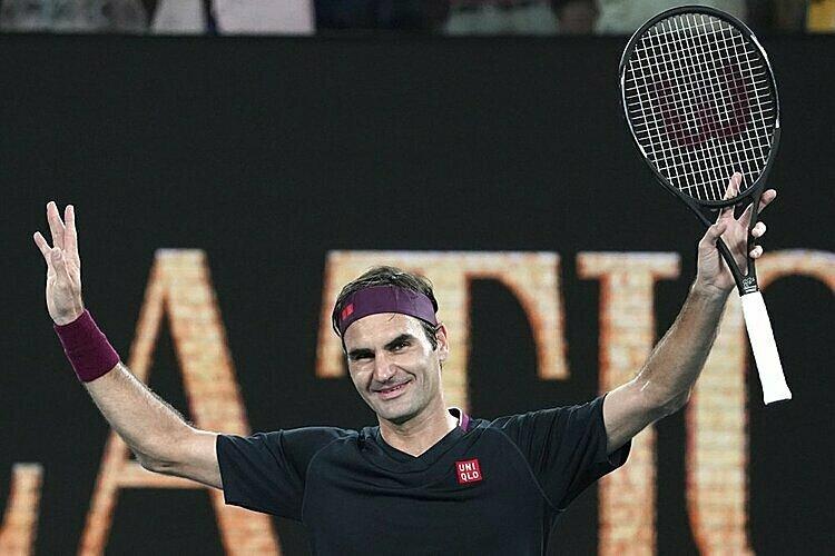 Federer lần thứ 21 vào vòng ba Australia Mở rộng