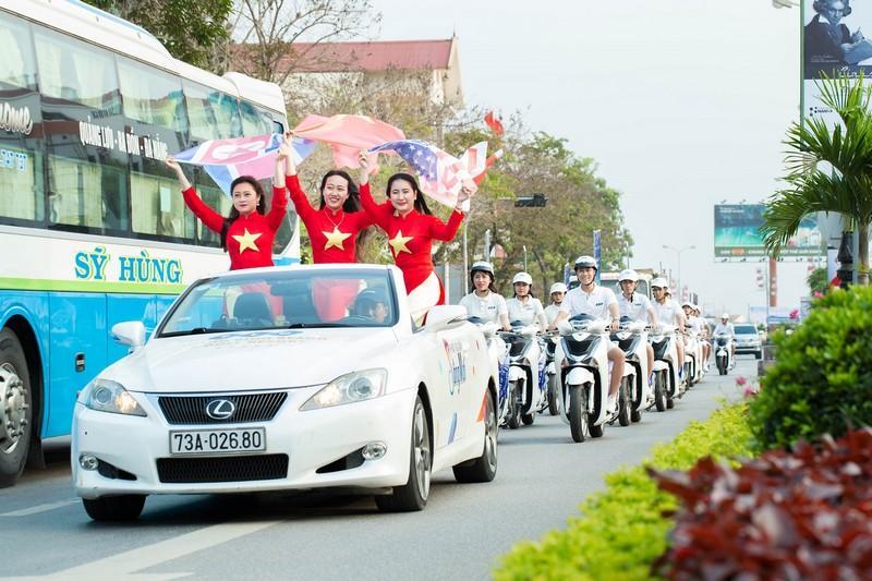 """FLC Quảng Bình khởi động năm 2019 tại """"sân nhà"""" với roadshow hoành tráng"""