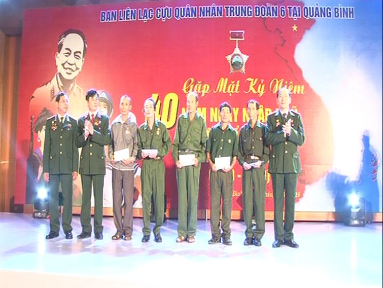 Gặp mặt kỷ niệm 40 năm ngày nhập ngũ theo Lệnh tổng động viên