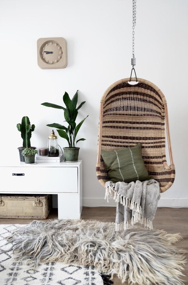 Ghế treo - Món nội thất chỉ góp mặt là nhà đã có ngay góc nghỉ dưỡng tuyệt vời