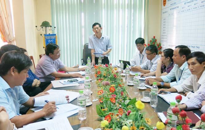 Giám sát việc chấp hành các văn bản quy phạm pháp luật trong quản lý và thu thuế tại Chi cục Thuế thị xã Ba Đồn
