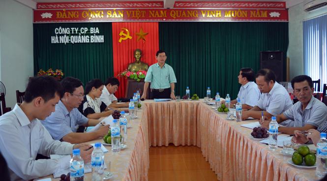 Giám sát việc chấp hành các văn bản quy phạm pháp luật trong quản lý và thu thuế tại Công ty CP Bia Hà Nội-Quảng Bình