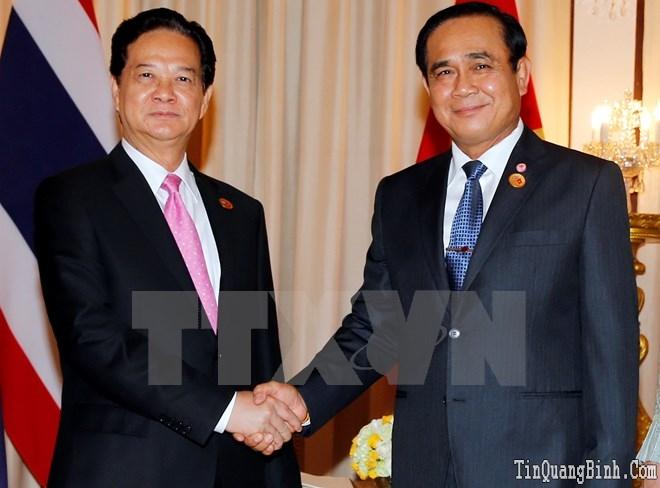 Hai Chính phủ Việt Nam và Thái Lan ra thông cáo báo chí chung
