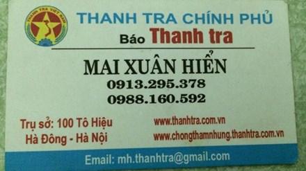 Hai người bị chấm dứt hợp đồng làm báo tại Quảng Bình