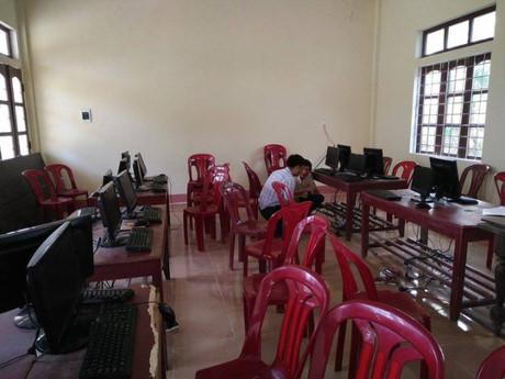Hàng chục CPU máy tính Trường THPT dân tộc nội trú huyện Minh Hóa bị lấy trộm